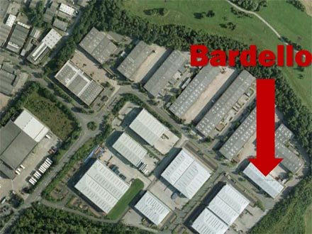 Map, Bardello Solihull